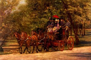 A May Morning in the Park (The Fairman Rogers Four-in-Hand) 1879-80