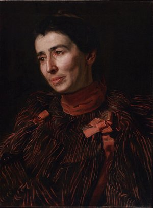 Thomas Cowperthwait Eakins - Addie (Portrait of Mary Adeline Williams) 1909