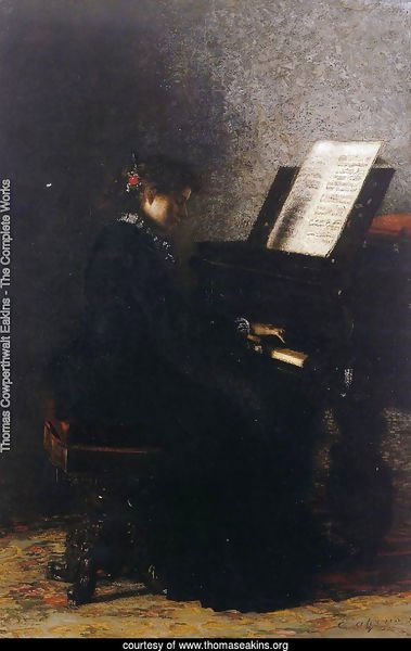 Elizabeth at the Piano 1875