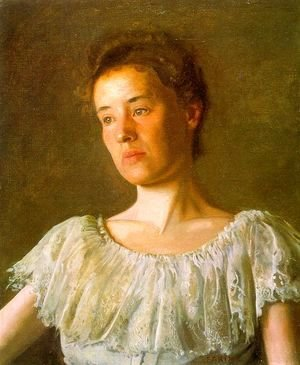 Thomas Cowperthwait Eakins - Portrait of Alice Kurtz 1903