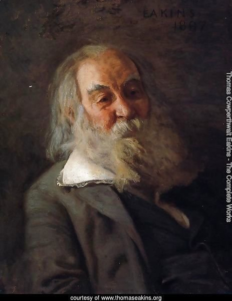 Portrait of Walt Whitman 1887-88