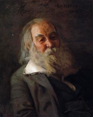 Thomas Cowperthwait Eakins - Portrait of Walt Whitman 1887-88