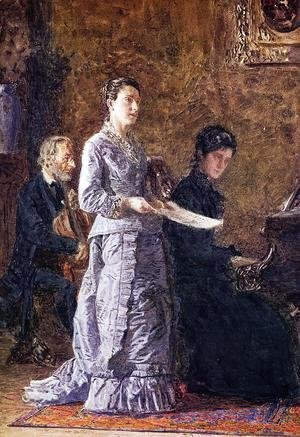 Thomas Cowperthwait Eakins - The Pathetic Song 1881